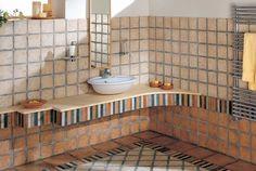 Stylová koupelna inspirace na chalupu Cerdomus Kyrah Moon White & Morak