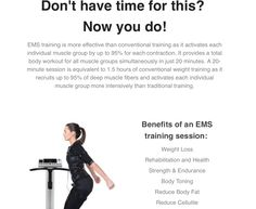 With over users in Europe, The Body Shape Studios are bringing the first EMS studio of its kind to London in The Muscle Groups, Total Body, Body Shapes, Have Time, Ems, Training, Workout, Fitness, Stuff Stuff