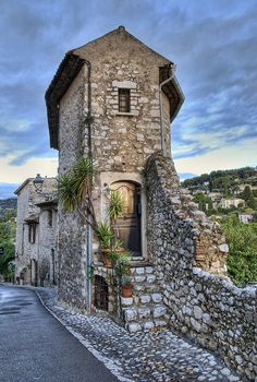 House in Saint Paul de Vence, France  Very humble abode