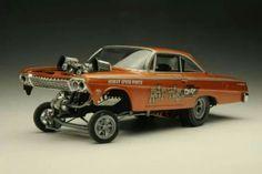 Chevy Gasser Model.