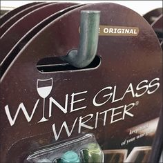 Wine-Glass-Writer Color-Codes Party Drinks