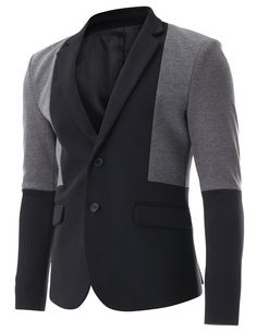 FLATSEVEN Mens Black and Grey  Walk by in this and all they will hear is swhhhsh