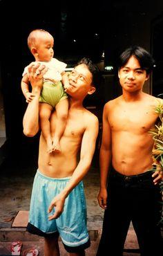 Balinese boys, Ubud, Bali - Jean Stewart