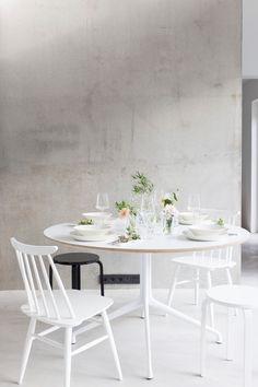 A Small Garden on the Table Scandinavian Design, Dining Table, House, Interior Design, Kitchen, Furniture, Garden, Home Decor, Interiors