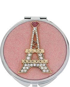 EIFFEL TOWER COMPACT: An alluring addition to any purse!