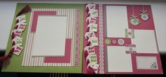 Stampin' Up! Scrapbooking pages by Inspiring Inkin' with Amanda Fowler