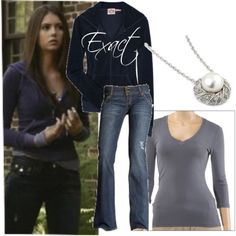 Casual comfy Elena Gilbert outfit