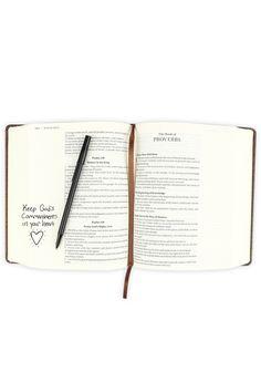 KJV Journal The Word Bible, Large Print