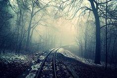 Ferrocarril, Transporte, De Viaje, Pista