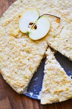 S vášní pro jídlo: Tvarohový jáhelník s jablky Sweet Recipes, Cookie Recipes, Paleo, Food And Drink, Bread, Cheese, Cookies, Healthy, 3