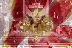 #doubleexposure #fineart #photography #belcrum #breda, the Netherlands - Artwork € 450,- per digital design, 1:1 € 999,- per digital file, for prints ask info@artstudio23.com for a quote #dutch #design #brabant #christus #koning #kerk #tulp #tulip