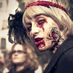 How do you Halloween - scary? Sexy? Sweet? Or in a zombie mob?