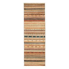 """Tribal Collection Oriental Rug, 2'9"""" x 8'1"""""""