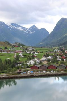 town in olden norway