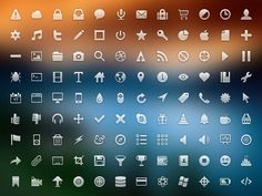 icon set monoqlo