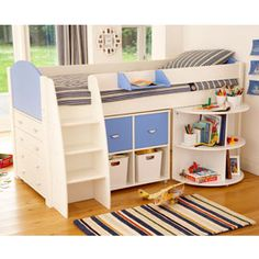 Wish we could afford to get 2 of these for the boys...they would be perfect to free up some space in their room!!!