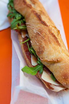 Maison Castro sandwich shop in Paris   davidlebovitz.com