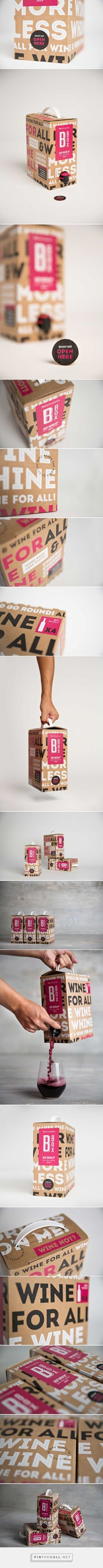 Bbox Box Wine packaging design by Awesome TLV (Israel) - http://www.packagingoftheworld.com/2016/08/bbox.html