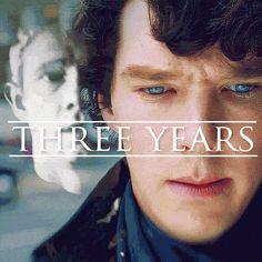 Three bloody years!!