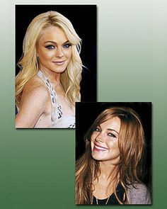 Famous Actress Lindsay Lohan With Blonde Hairs As I Official,Original,Only And Real Melinda Prudence Halliwell-Wyatt-James With Blonde Hairs Like Aunties Phoebe Alyssa Isobelle Halliwell-Cupid Missy Rose Matthews-Mitchell.