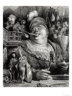 Pantagruel - Gustave Doré- Rabelais