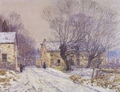Images of Artist Edward Redfield | The Old Mill , Edward Redfield