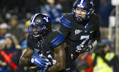 Dick Harmon: Hill, Williams complete career work at BYU in win over pesky Aggies Byu Football, Football Helmets, Blue Bloods, Career, 21st, Games, Sports, Hs Sports, Carrera