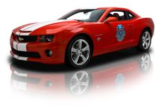 This 2010 Camaro SS Indy 500 Pace Car has only 347 actual miles & a 6.2L V8/400 HP.