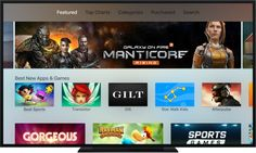Apple TV: gli utenti scaricano tantissimi giochi