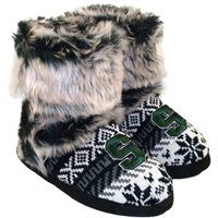 Michigan State Spartans Women's Knit Booties - Black/White