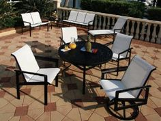 Suncoast South Beach Sling Casual Cast Aluminum Dining Set by Suncoast. $2503.20. Shop for cast aluminum dining sets at PatioFurnitureBuy.com today and save! When looking for top quality made in USA Suncoast furniture products for your outdoor furniture needs, this Suncoast south beach sling casual cast aluminum dining set (SOUTHCL) will provide years of enjoyment for your furniture decor.