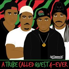 A Tribe Called Quest Tech N9ne, A Tribe Called Quest, Hip Hop Art, Old School, Entertaining, Music, Movie Posters, Movies, Musica