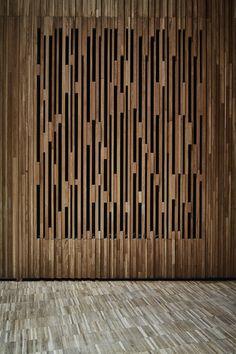 Projeto acústico e teatral para um auditório polivalente: novo Museu Yves Saint Laurent em Marrakech,© studio kO