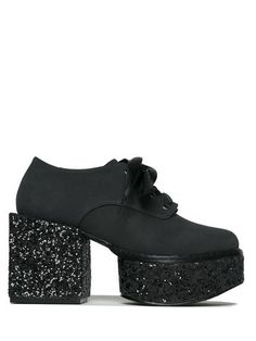 Show up to the seance in some fresh kicks. Vegan suede shoes with a black glitter 3 heel. Rock them with our Queen For A Day Dress. Black High Heels, High Heel Pumps, Pumps Heels, Black Glitter Shoes, Glitter Pumps, Boys Shoes, Me Too Shoes, Festival Boots, Wrap Heels