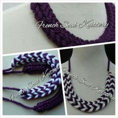 #knit #knitting #crafty #handmade #knittednecklace #knittedjewelry #knitwear #womenwear