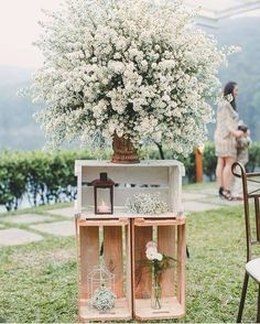 Wedding Outside: That's what you have to think about when you celebrate in the forest / park - Decoration Solutions - Spring Wedding, Diy Wedding, Wedding Reception, Rustic Wedding, Wedding Flowers, Dream Wedding, Wedding Ideas, Reception Ideas, Vintage Outdoor Weddings
