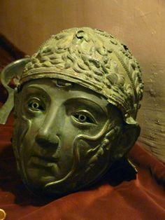 Bronze Helmet -- 1st Century CE -- Istanbul Archeaological Museum, Vize
