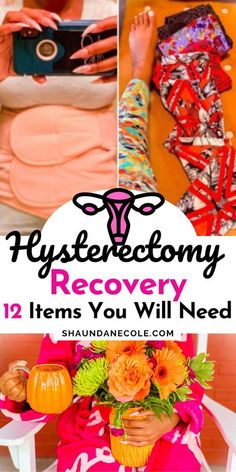 Hysterectomy recovery + care package. 12 must-have items for recovery from robotic partial hysterectomy surgery. Humor, party & exercise after. Day 1 recovery timeline & things you need to know. Quotes, life after & losing weight after. Hysterectomy surgery tips for approaching surgery. Recovery laparoscopic and robotic hysterectomy. Post op partial, total hysterectomy, abdominal recovery. Surgery Humor, Surgery Quotes, Hospital Care Packages, Hospital Bag, Partial Hysterectomy, Hysterectomy Humor, Get Well Gift Baskets, Endometriosis Surgery, Preparing For Surgery