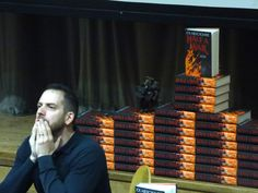 Joe Abercrombie ponders an audience question on July 14th.