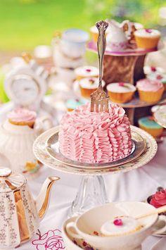 Ruffles & Roses Tea Party via Sweetapolita (with recipe)