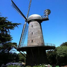 Windmill at Golden Gate Park, San Francisco