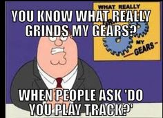 Or can't tell the difference between Track and Cross Country. You dont PLAY track or cross country you run it. Thats what differs us from the other sports. Running Memes, Running Quotes, Running Motivation, Running Workouts, Running Tips, Fitness Motivation, Cross Country Memes, Cross Country Running, Country Quotes
