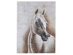 Hest Oljemaleri 120x90 cm