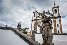 Arquitetura Barroca de Ouro Preto - obras de Aleijadinho