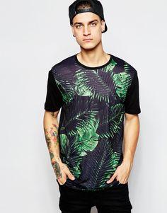 885fee4d2802 Camisetas Largas, Sudaderas, Polos De Moda, Camisa Floral, Moda Para  Caballero,. ASOS