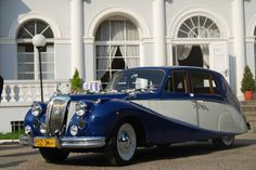DAIMLER Z 1957r. #weddingcar