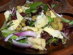 Greek Salad with Artichoke Hearts
