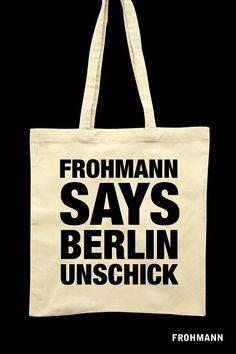 Christiane Frohmann: Berlin Unschick, DRM-freies E-Book (ePub, mobi), Frohmann: Berlin 2014, EUR 2,99, http://frohmannverlag.tumblr.com/post/82776564594 *** Cover: Ursula Steinhoff/Frohmann, #unschick