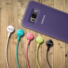 💜💚💖💛🖤 Personalize your phone with original Samsung accessories 🤳🎧🎵🎶🎉 Phone Accesories, Samsung Accessories, Samsung Earphones, Cases, The Originals