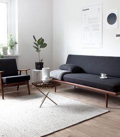 sofa negro